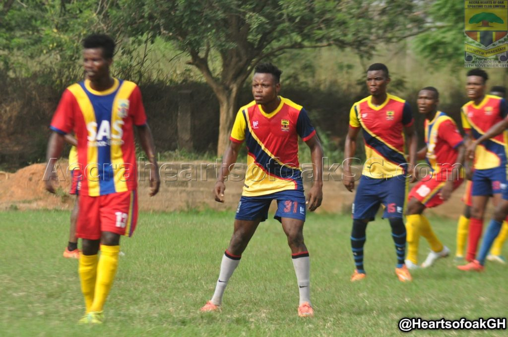 Hearts held by Young Wise in preseason friendly