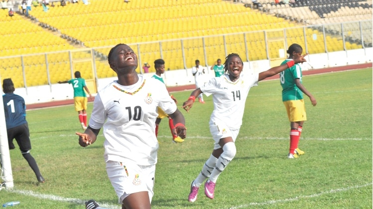 We are happy for Mercy Tagoe- Black Queens attacker Priscilla Adubea