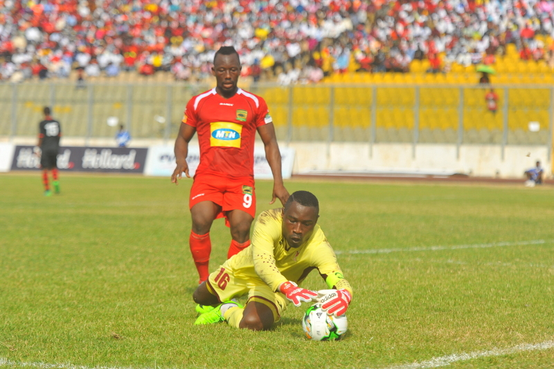 Kotoko striker Saddick Adams believes the club were unlucky against CARA despite win