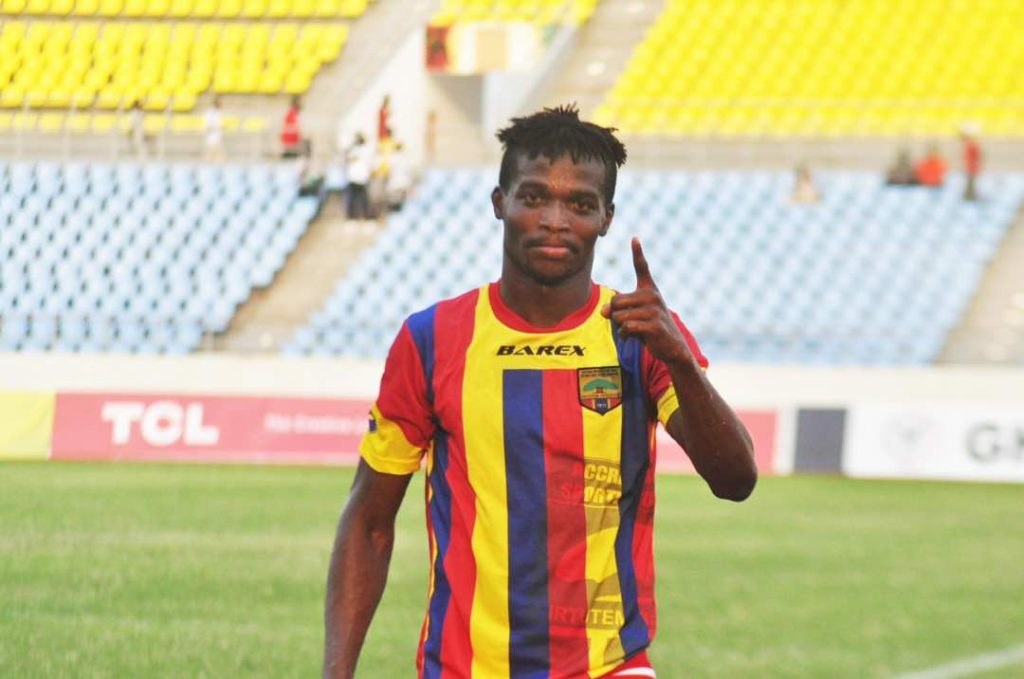 Richard Zuma's move to Hearts of Oak is 90% done- Players agent