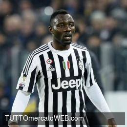 Eight teams contact Kwadwo Asamoah's agent on his availability