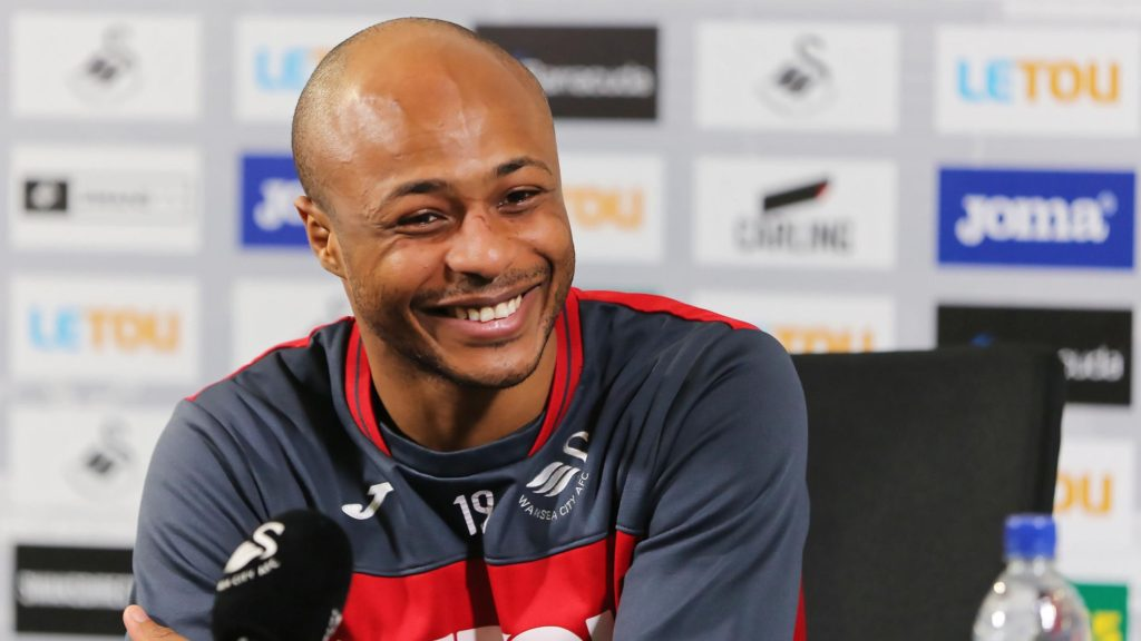 Andre Ayew declares himself fit to make his second Swansea City debut against Burnley this weekend