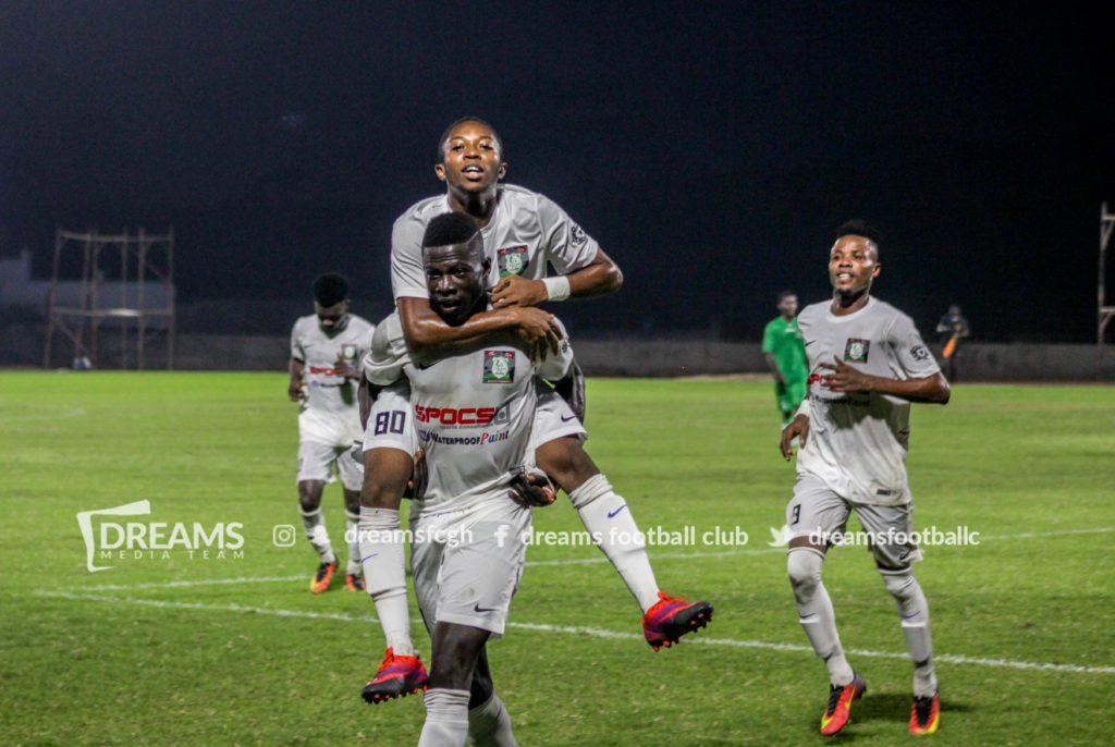 GFA StarTimes Gala: Dreams FC beats Samartex to book quarter finals place