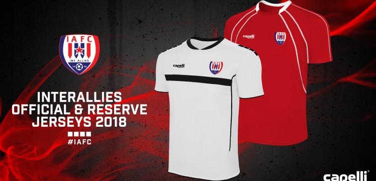 Premier League side Inter Allies unveil new jerseys for 2017/2018 season