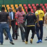 2018 CAF CONFED. CUP: CARA officials and supporters heckles Kotoko players