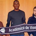 Kwame Nsor happy at Academico de Viseu