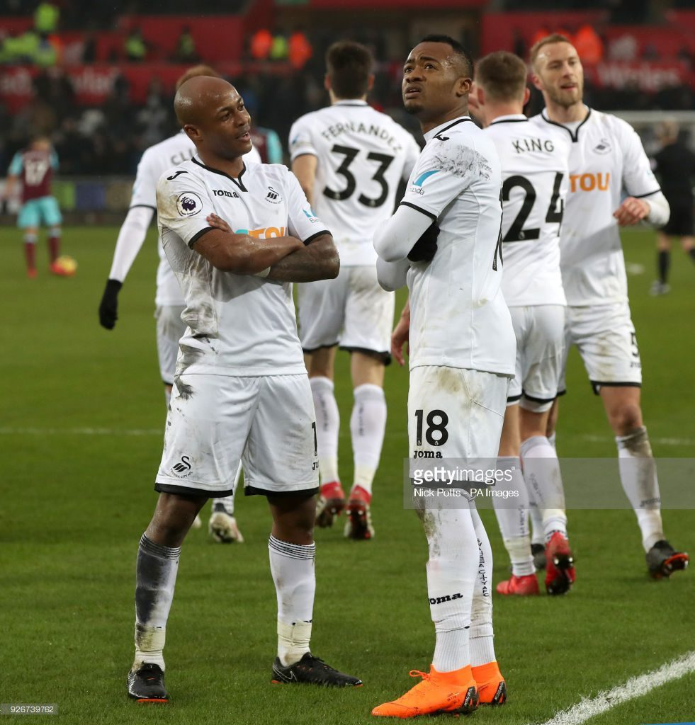 Ayew brothers named in Premier League team of the week