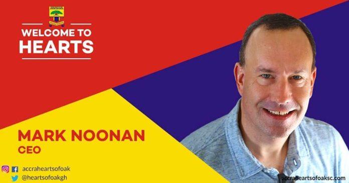 Mark Noonan confirmed as Hearts of Oak new CEO