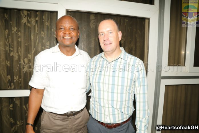 Mark Noonan returns to Ghana after holiday in native USA