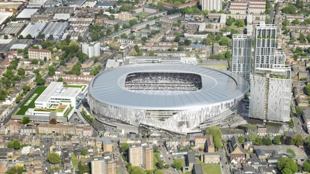 Tottenham: Liverpool the visitors for first game at new stadium