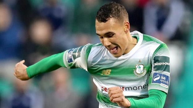Graham Burke: Preston North End sign Shamrock Rovers striker
