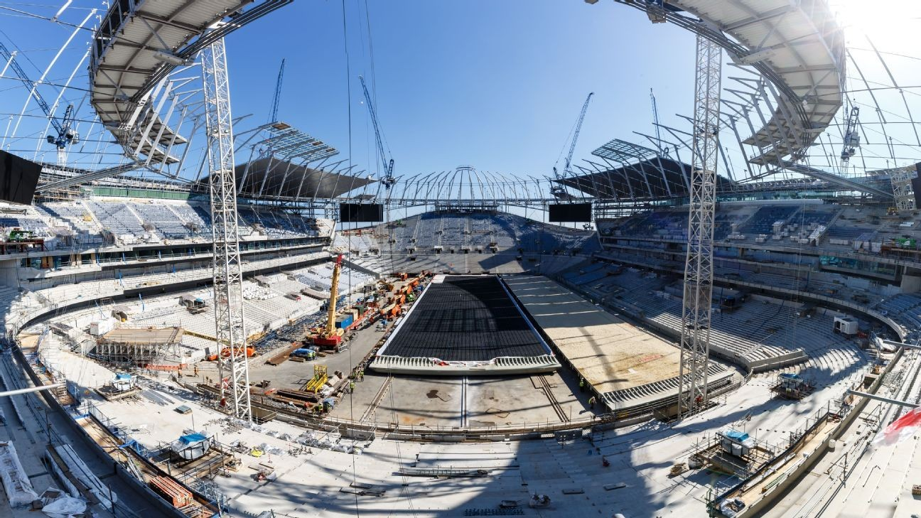 Tottenham confirm first game at new stadium vs. Liverpool in September