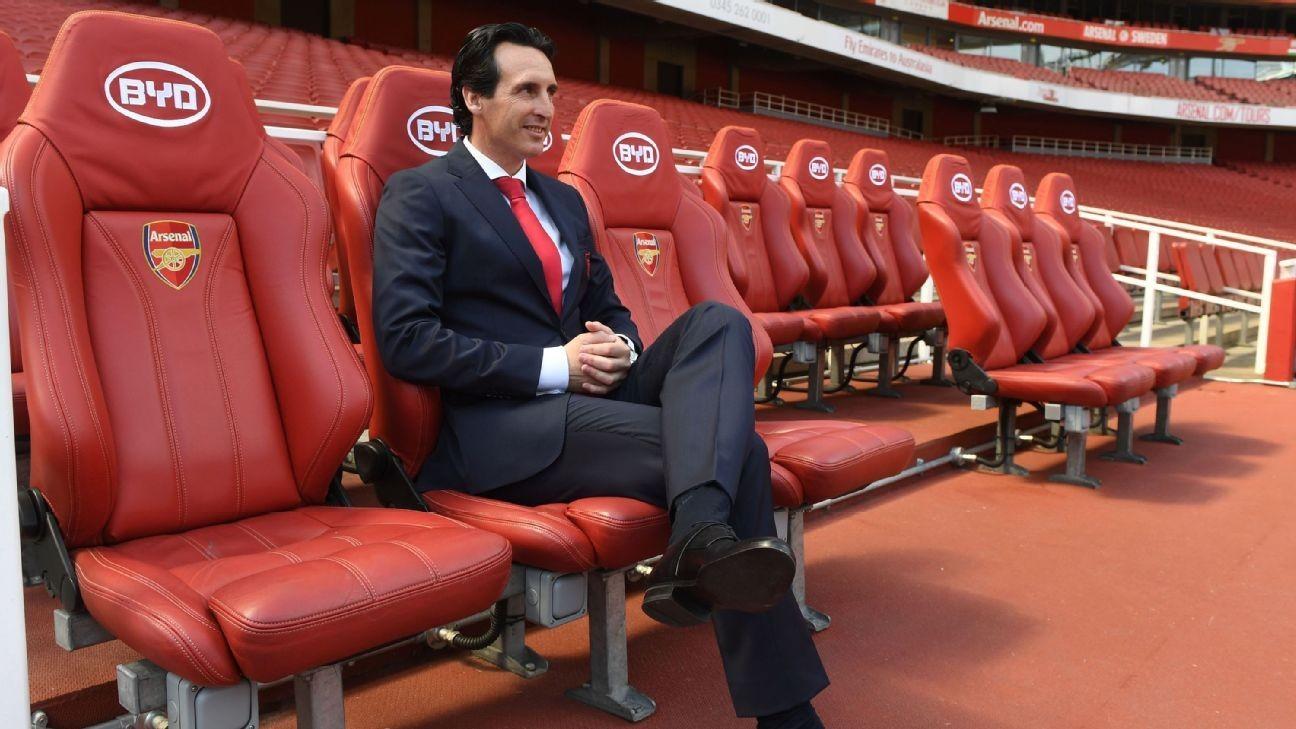 Premier League fixtures deal Arsenal boss Unai Emery a nightmare start