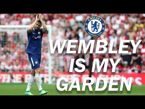 Giroud's FA Cup... Wembley is my garden!