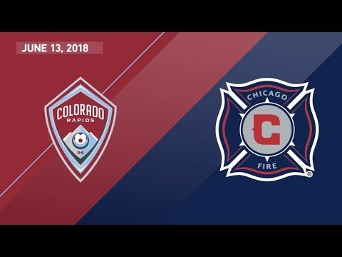 HIGHLIGHTS: Colorado Rapids vs. Chicago Fire | June 13, 2018