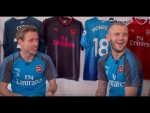 Wilshere, Welbeck & Monreal quiz each other on tackles, movies and more
