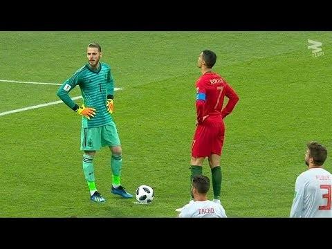 Cristiano Ronaldo: 5 Hat-Tricks vs Best Goalkeepers In The World