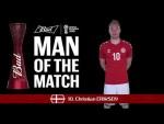 Christian ERIKSEN (Denmark) - Man of the Match - MATCH 22
