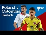 POLAND v COLOMBIA HIGHLIGHTS - FIFA World Cup