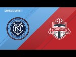HIGHLIGHTS: New York City FC vs. Toronto FC | June 24, 2018