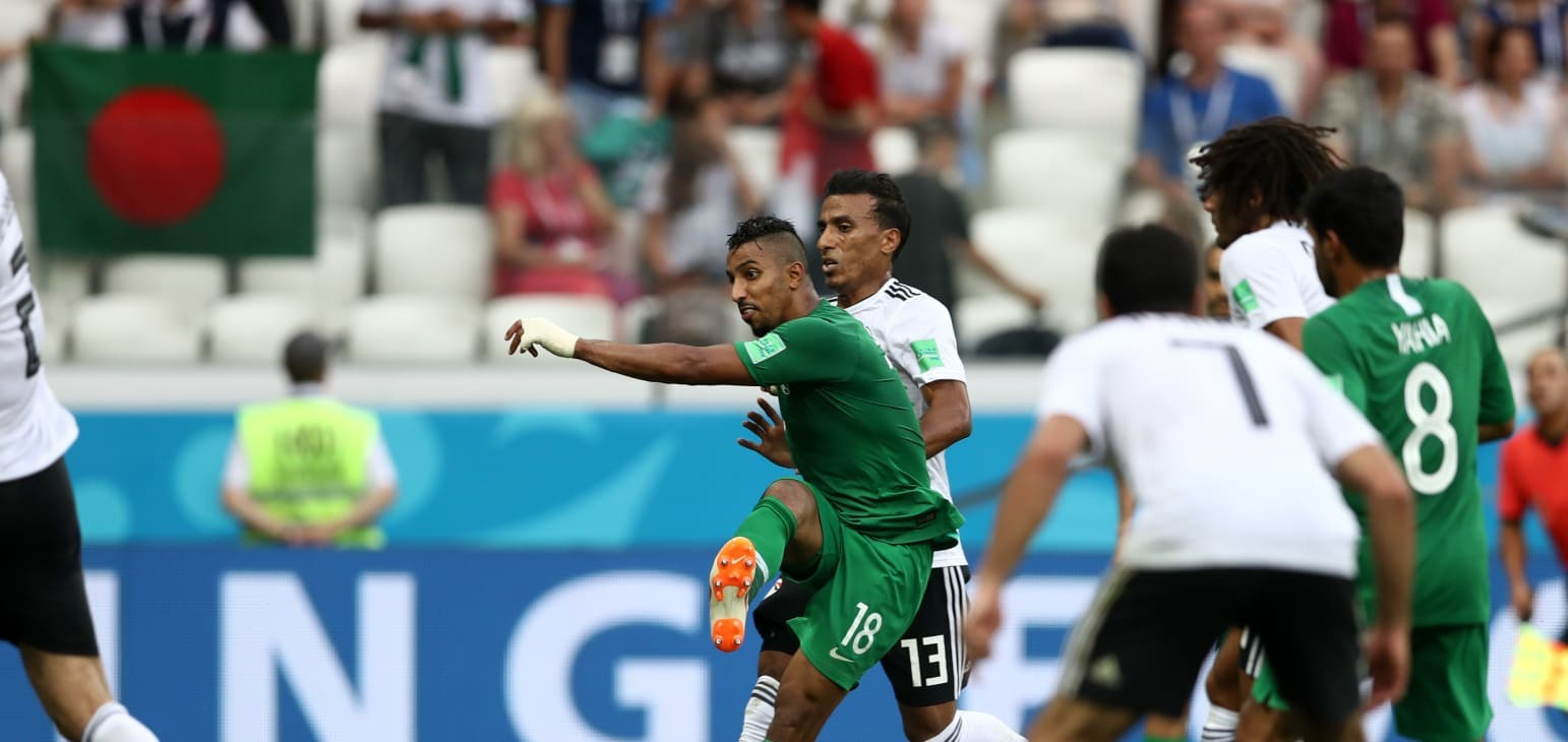 Group A: Saudi Arabia 2-1 Egypt