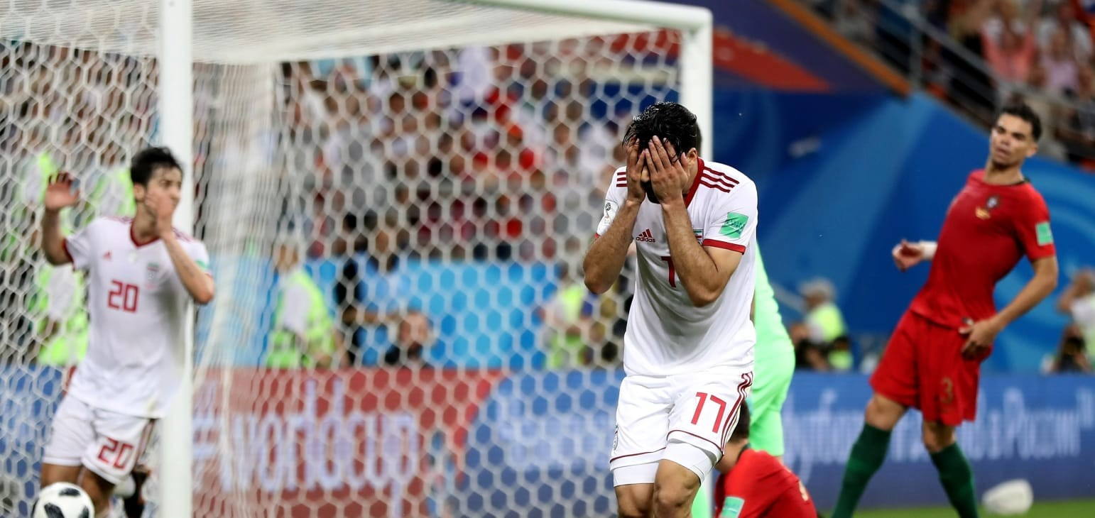 Group B: IR Iran 1-1 Portugal