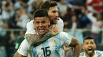 World Cup 2018: Argentina through after Marcos Rojo's late volley downs Nigeria 2-1