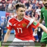 CHELSEA move for GOLOVIN on its way to Russia