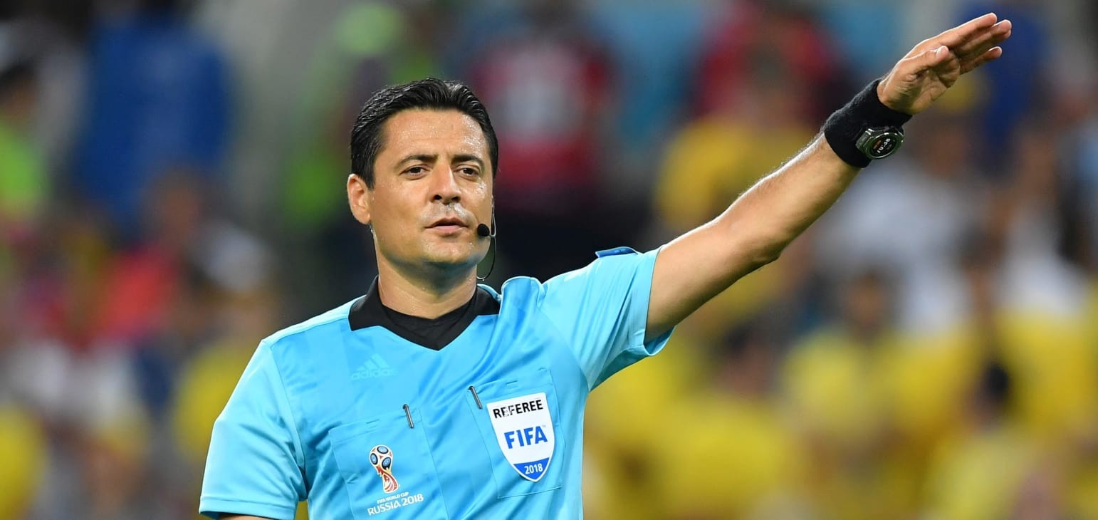 Faghani takes charge of France-Argentina encounter