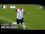 Gabriel MERCADO Goal - France v Argentina - MATCH 50