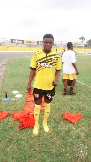 Ashgold Signs Betway Talent Search Runner-Up