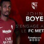 John Boye on target as Metz close on Ligue 1 promotion
