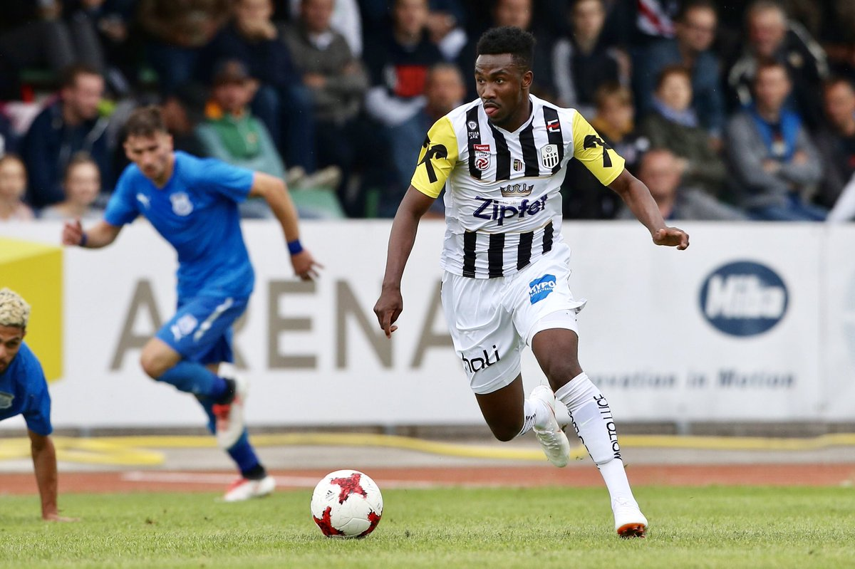 Samuel Tetteh: 'I'm not from a rich family, sometimes it was hard for my parents to get food to eat