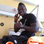 Thomas Boakye discharged from hospital after scary injury in Sweden