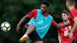 Czech giants Sparta Prague demand €12 from Galatasaray for Benjamin Tetteh)