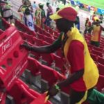 Senegal fans stayed behind after match against Poland to clean Spartak Stadium