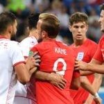 Harry Kane frustrated not to be given penalty in England World Cup win over Tunisia