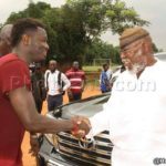 Sulley Muntari earn applauds from Hearts of Oak Board Member Dr Nyaho Tamakloe