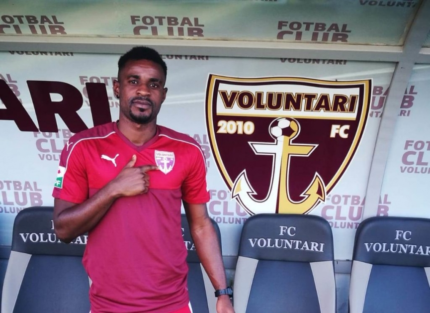 Richard Gadze completes FC Voluntari move