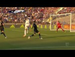 GOAL: Zlatan's one-time volley kicks off the Cali Clasico.
