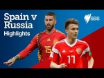 SPAIN v RUSSIA HIGHLIGHTS - FIFA World Cup