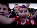 Fan Fest Goes Wild at Russia Win!
