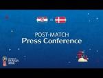 2018 FIFA World Cup Russia™ - CRO vs DEN : Post-Match Press Conference