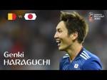 Genki HARAGUCHI Goal – Belgium v Japan – MATCH 54