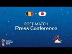 2018 FIFA World Cup Russia™ - BEL vs JPN : Post-Match Press Conference