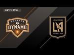 HIGHLIGHTS: Houston Dynamo vs. Los Angeles FC | July 3, 2018