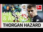 Thorgan Hazard - All Goals and Assists 2017/18