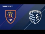 HIGHLIGHTS: Real Salt Lake vs. Sporting Kansas City | July 4, 2018