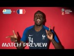 Blaise MATUIDI (France)  - Match 57 Preview - 2018 FIFA World Cup™