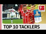 Top 10 Sliding Tacklers World Cup 2018 - EA SPORTS FIFA 18 - Pavard, Boateng & More
